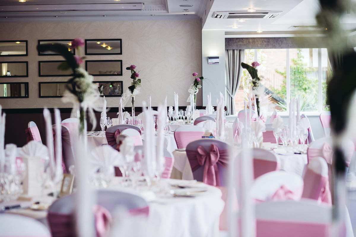 pink theme in acton suite