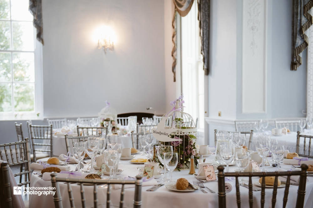 wedding decor somerford hall