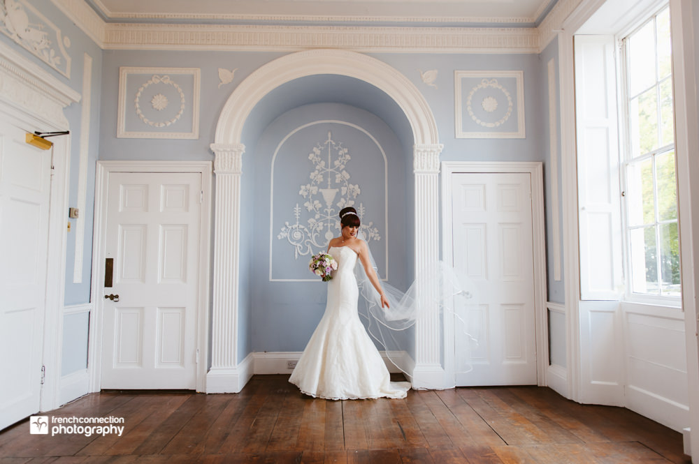 adam room bridal portrait somerford