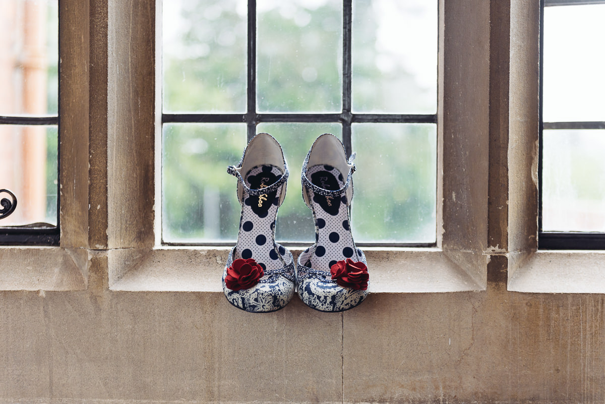 wedding shoes pendrell hall