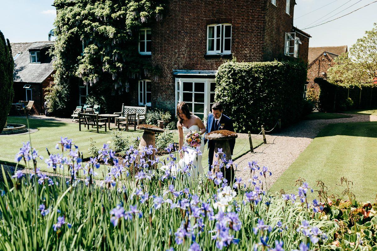 wedding photo at packington